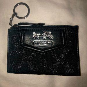 Coach Signature Collection Mini Card/Key Holder
